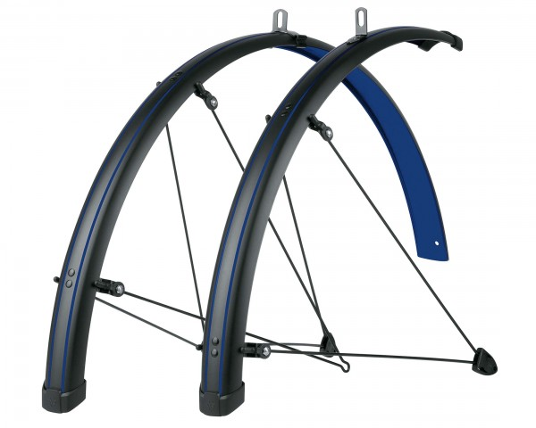 SKS Bluemels Stingray Mudguards Set 28 Inch | ocean blue