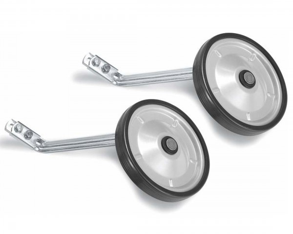Puky ST-ZL alu supporting wheels for ZL 16 / 18 | silver