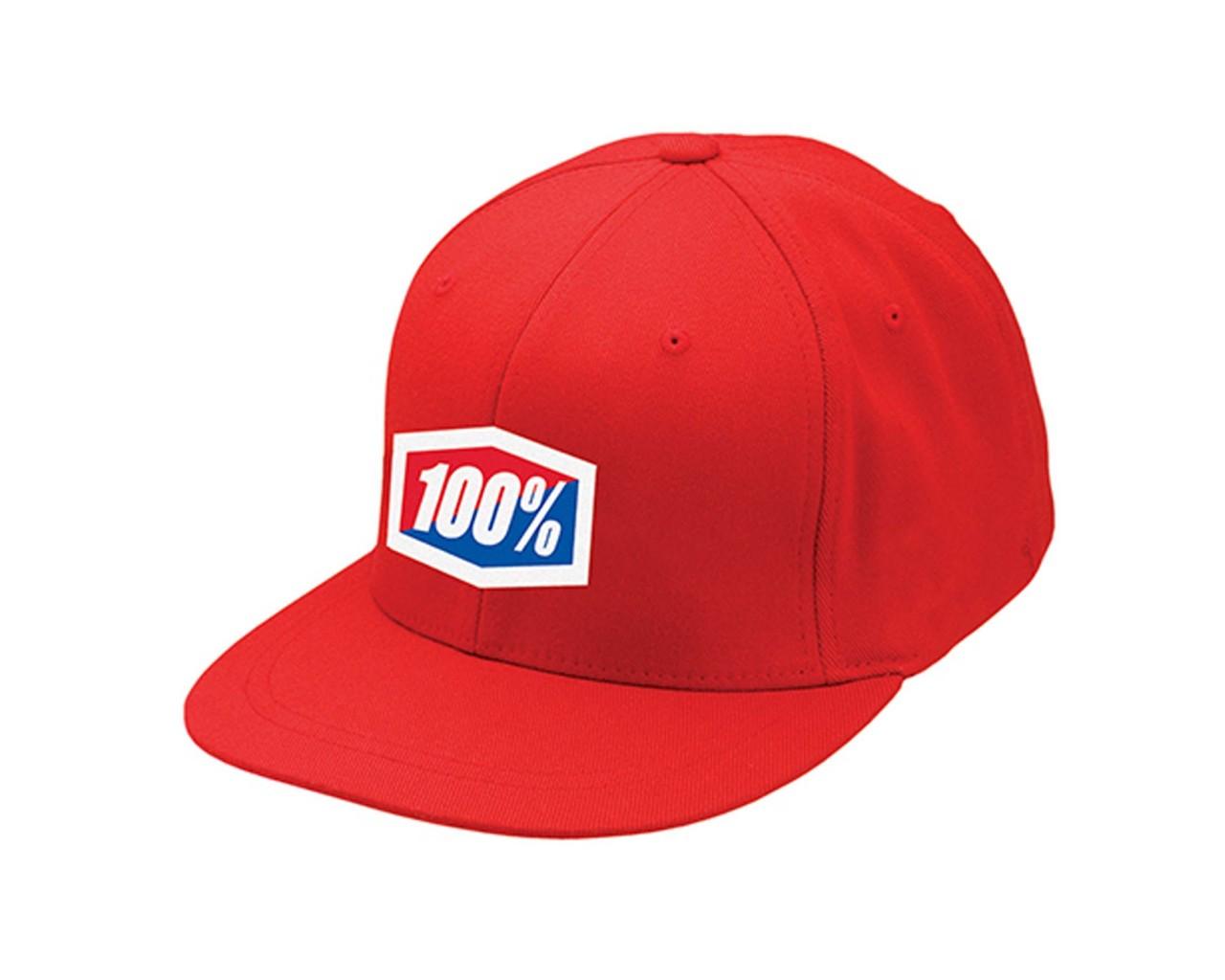 100% Official J-Fit Flexfit Hat | red
