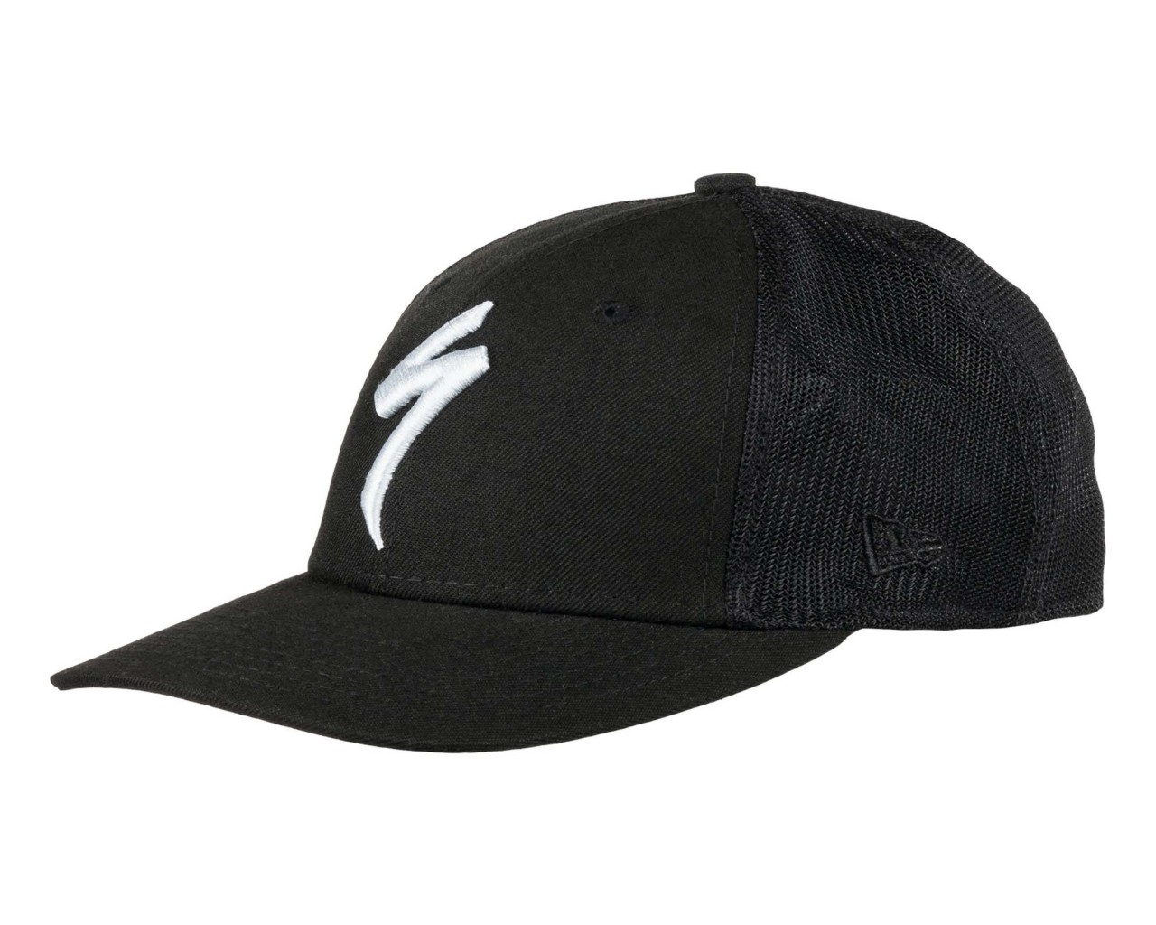 Specialized New Era S-Logo Trucker Hat | black-dove grey