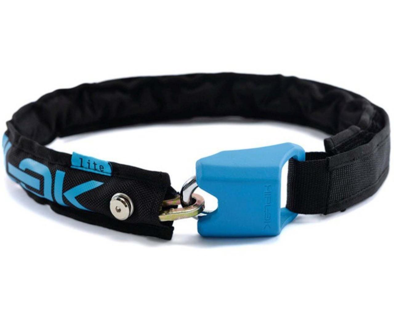 Hiplok Lite, Wearable 6mm Chain Lock | cyan