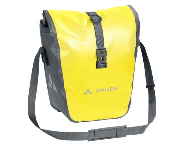 Vaude aqua front pannier PVC-free (Pair)   canary