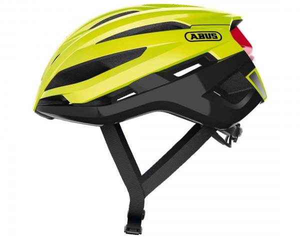 Abus StormChaser Rennrad Fahrradhelm | neon yellow