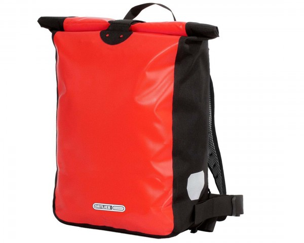 Ortlieb Messenger Bag wasserdichte Kuriertasche 39 liter | red-black