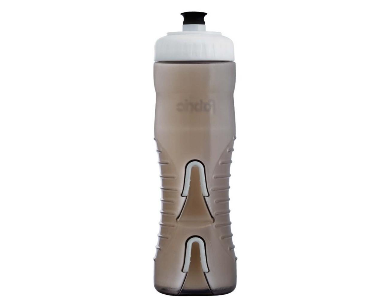 Fabric Wasserflasche mit integriertem Halter 750 ml   black-white