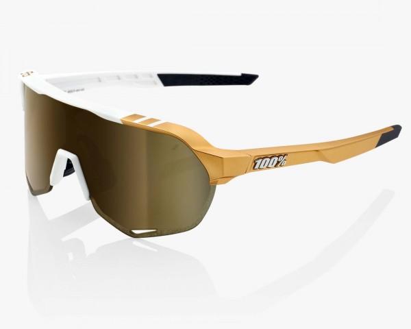 100% S2 - Mirror Rennrad Brille Peter Sagan LTD Edition | white-gold