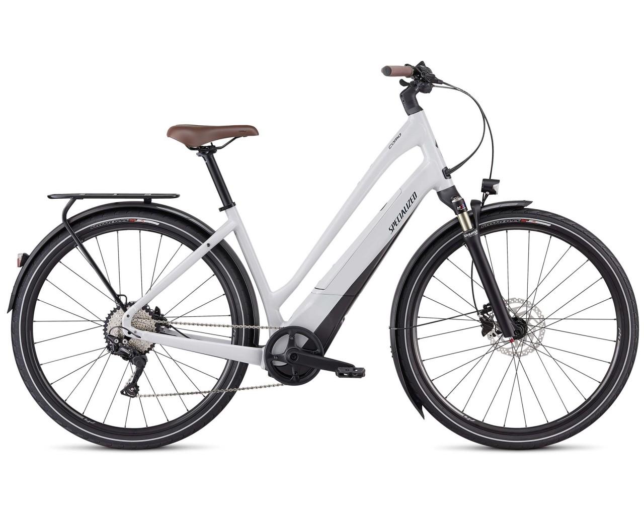 Specialized Como 4.0 Low Entry - City Elektro Trekking Bike 2020 | dove grey-cast blue-black