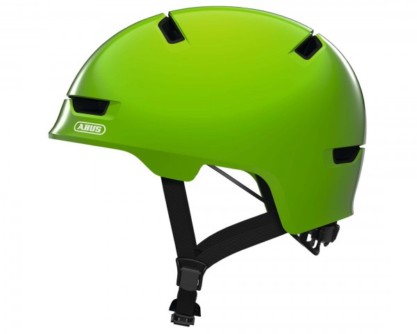 Abus Scraper 3.0 Kid Bike Helmet | shiny green