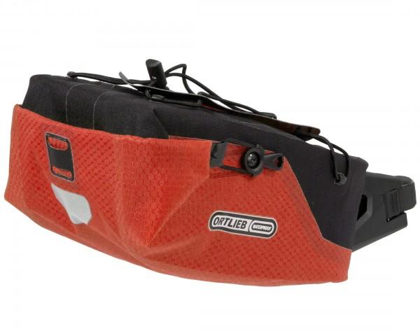 Ortlieb Seatpost-Bag waterproof saddle bag - size M | signal red-black