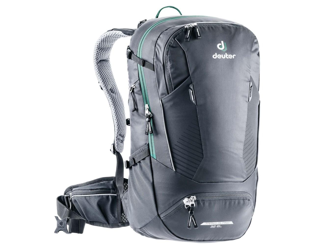 Deuter Trans Alpine 32 litres EL Bike backpack   black