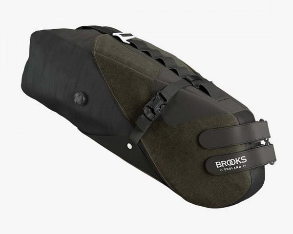 Brooks Scape Seat Bag   mud green