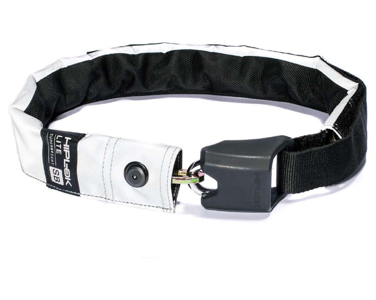 Hiplok Lite, High Visibility Wearable 6mm Chain Lock | superbright