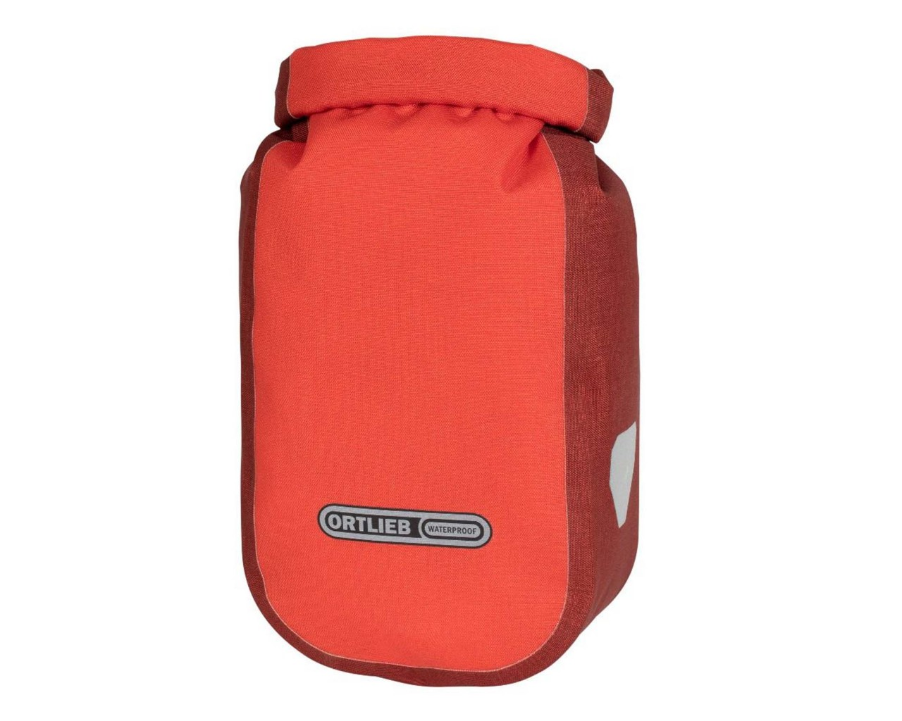 Ortlieb Fork-Pack Plus 4.1 litres waterproof Bicycle-Fork bag without adapter | signal red-dark chili