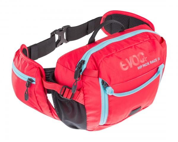 Evoc Hip Pack Race 3 Liter Hüfttasche | red-neon blue