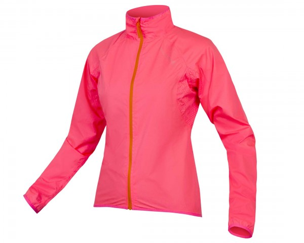 Endura Womens Xtract waterproof jacket | hi-viz pink
