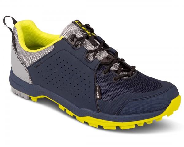 Cube MTB/Trekking Schuhe All Terrain ATX OX | blue n lime