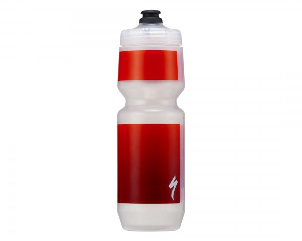 Specialized Purist MoFlo Trinkflasche 750 ml | translucent-red gravity