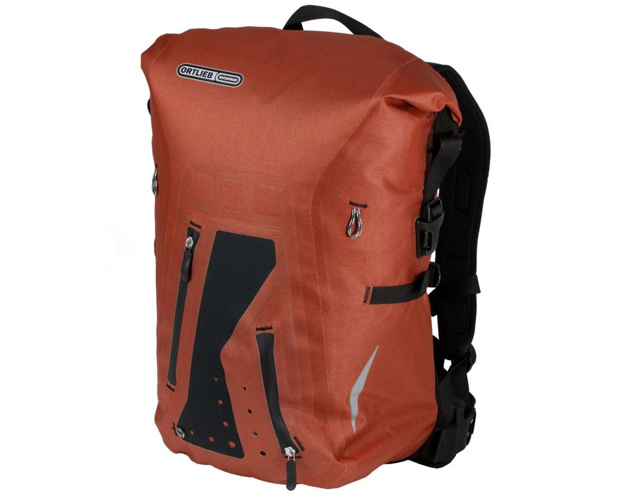 Ortlieb Packman Pro TWO 25 litres waterproof backpack PVC-free | rooibos