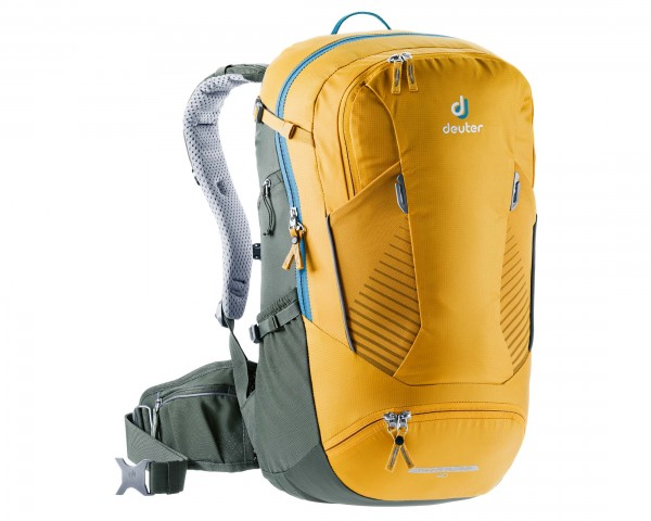 Deuter Trans Alpine 30 litres Bike backpack   curry-ivy