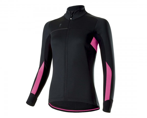 Specialized Womens Element RBX Comp Jacket | black-neon pink