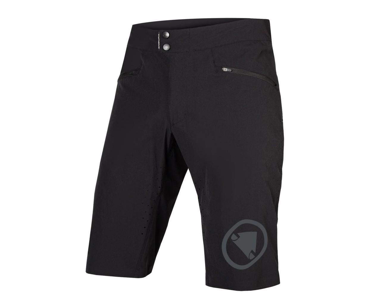 Endura SingleTrack Lite Standard Fit Shorts | black