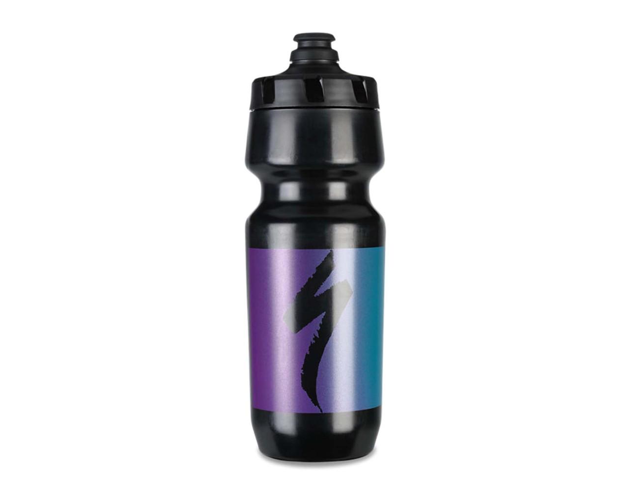 Specialized Little Big Mouth 2nd Gen. Trinkflasche 24oz | black-purple-blue hero fade