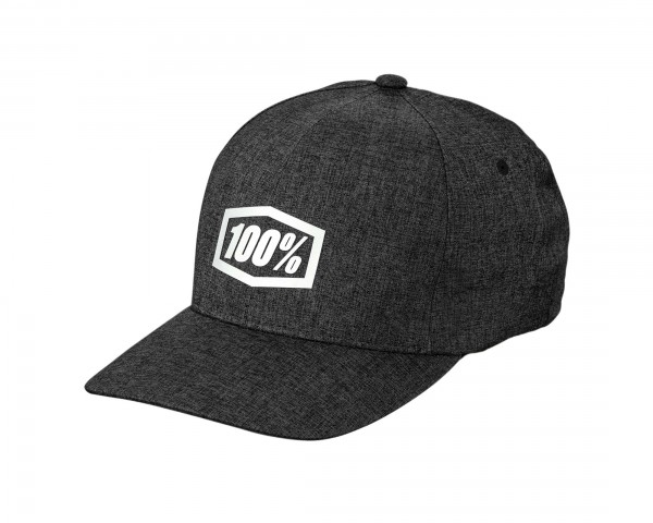 100% Generation X-Fit Flexfit Hat | charcoal
