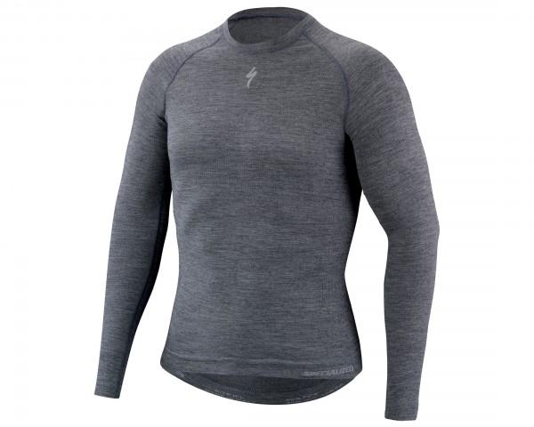 Specialized Seamless Merino Baselayer longsleeve | grey