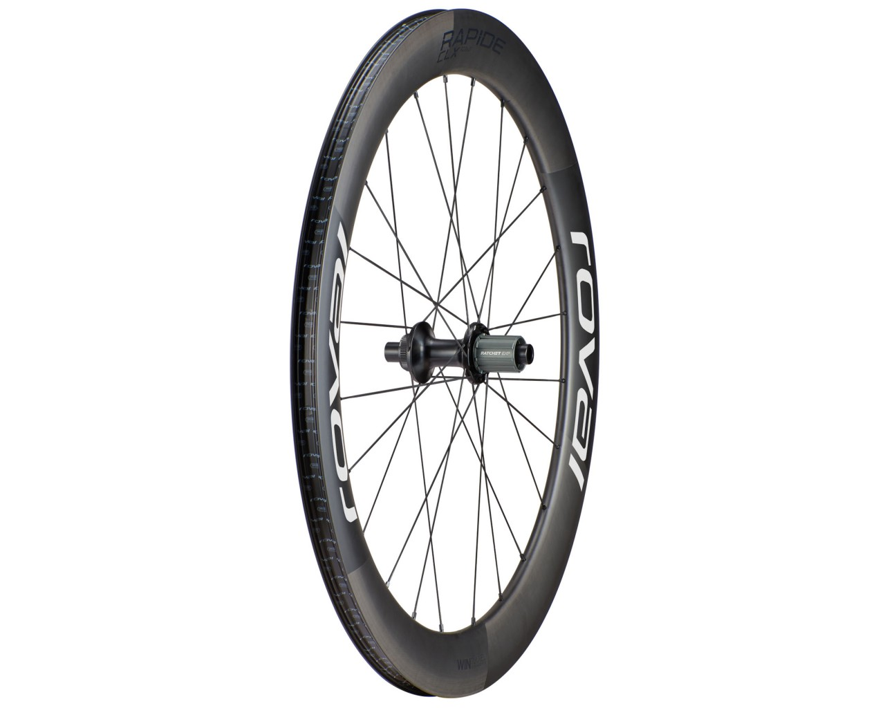 Specialized Roval Rapide CLX 700c - Rear Wheel | satin carbon-white