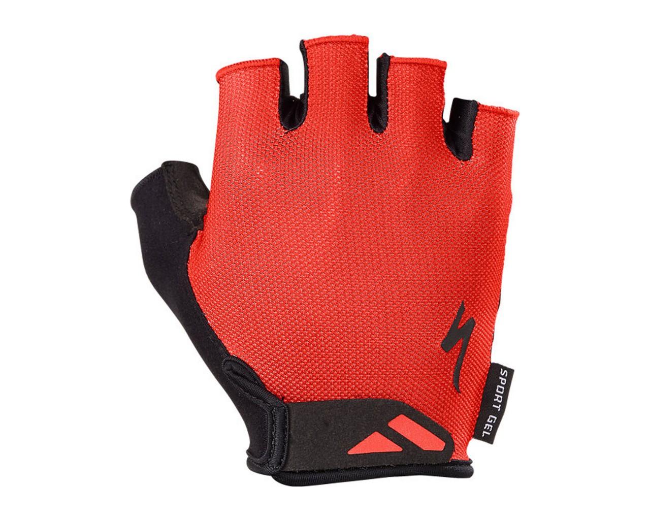 Specialized Body Geometry Sport Gel Glove short finger | red
