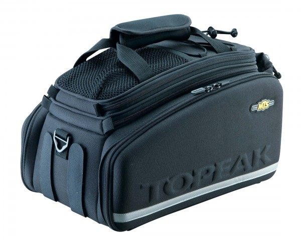 Topeak Trunk Bag DXP Strap - Trunkbag mit Klettbändern 22.6 l | black