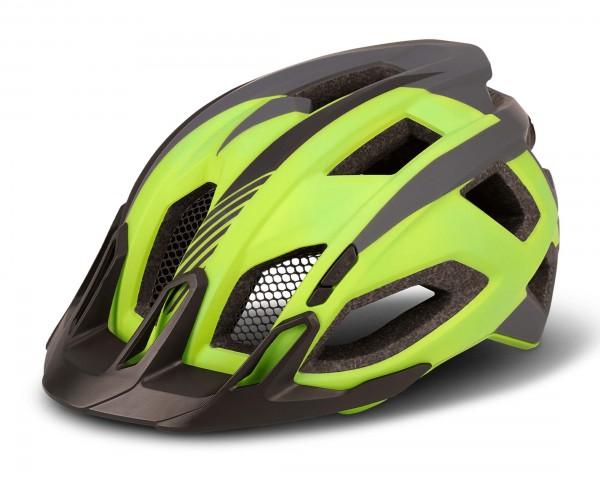 Cube Trekking Helmet QUEST | green n grey n black
