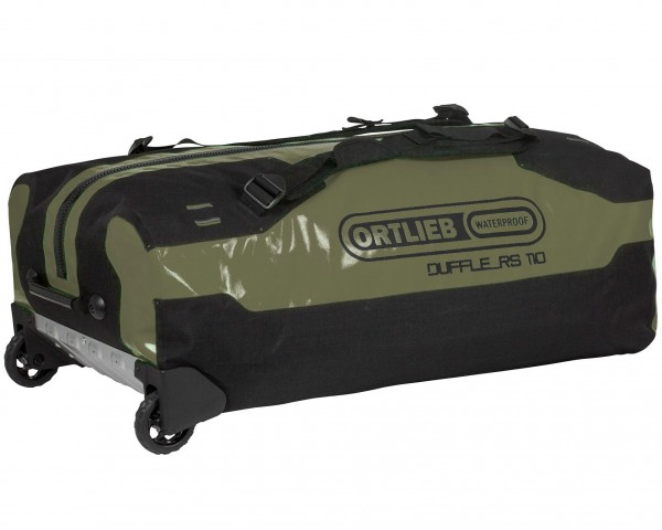 Ortlieb Duffle RS waterproof expedition bag with rolls 110 liter | olive-black