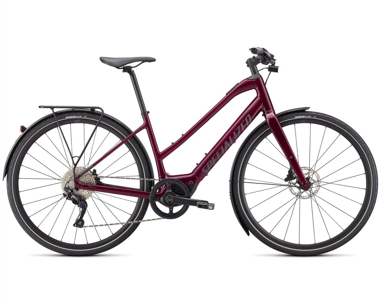 Specialized Vado SL 4.0 Step-Through EQ - Elektro Trapez Trekking Bike 2021   raspberry-black reflec