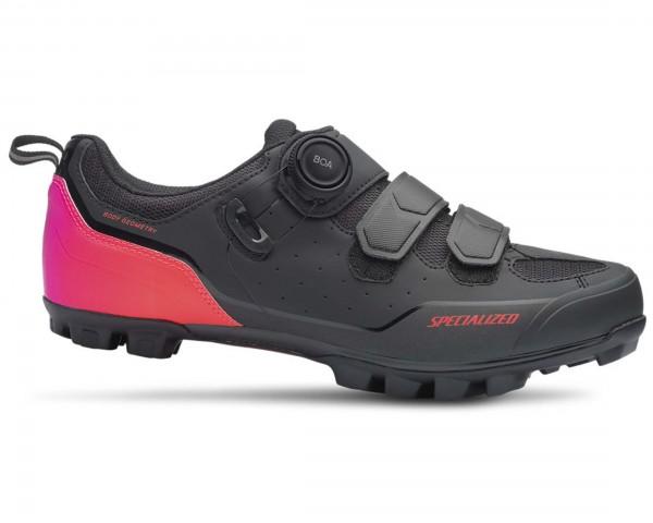 Specialized Comp MTB shoes | black-acid lava