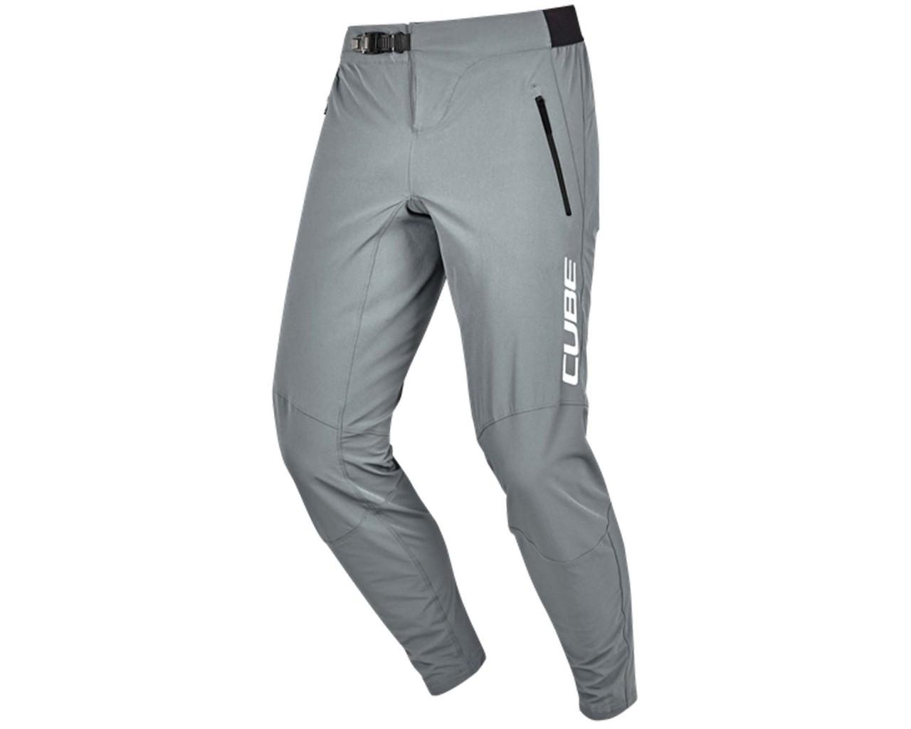 Cube Edge Baggy Pants | grey