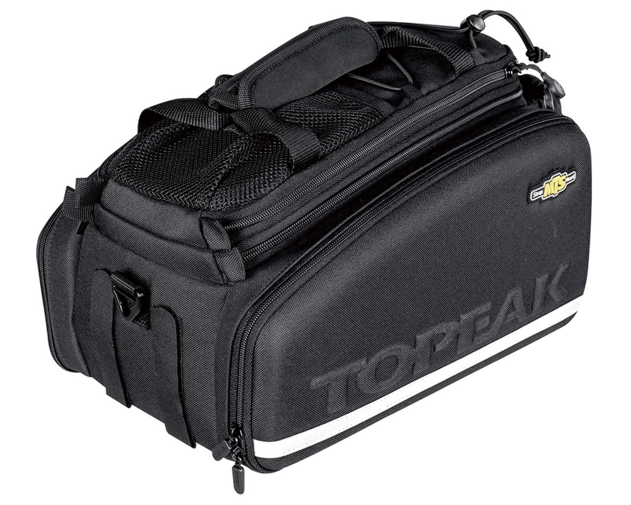Topeak MTS TrunkBag EX - Gepäckträgertasche für Snapit/KLICKfix   black