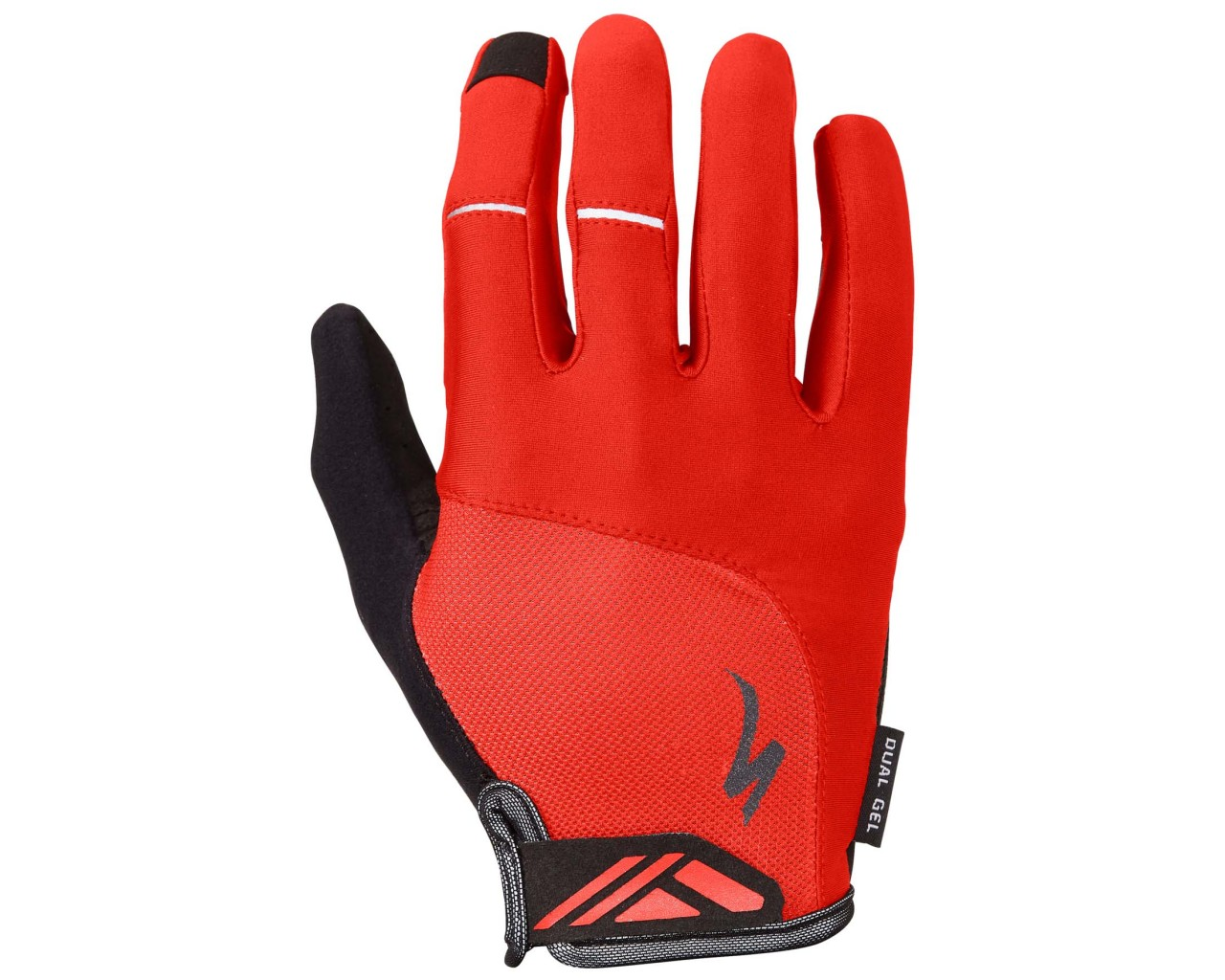 Specialized Body Geometry Dual-Gel Handschuhe langfinger   red