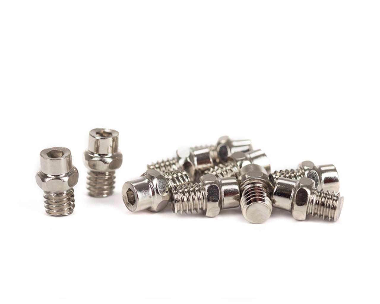 "Cube Pedal-Pins ""Flat"" | silver"