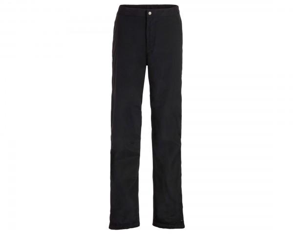 Vaude Mens Yaras Rain Pants III | black