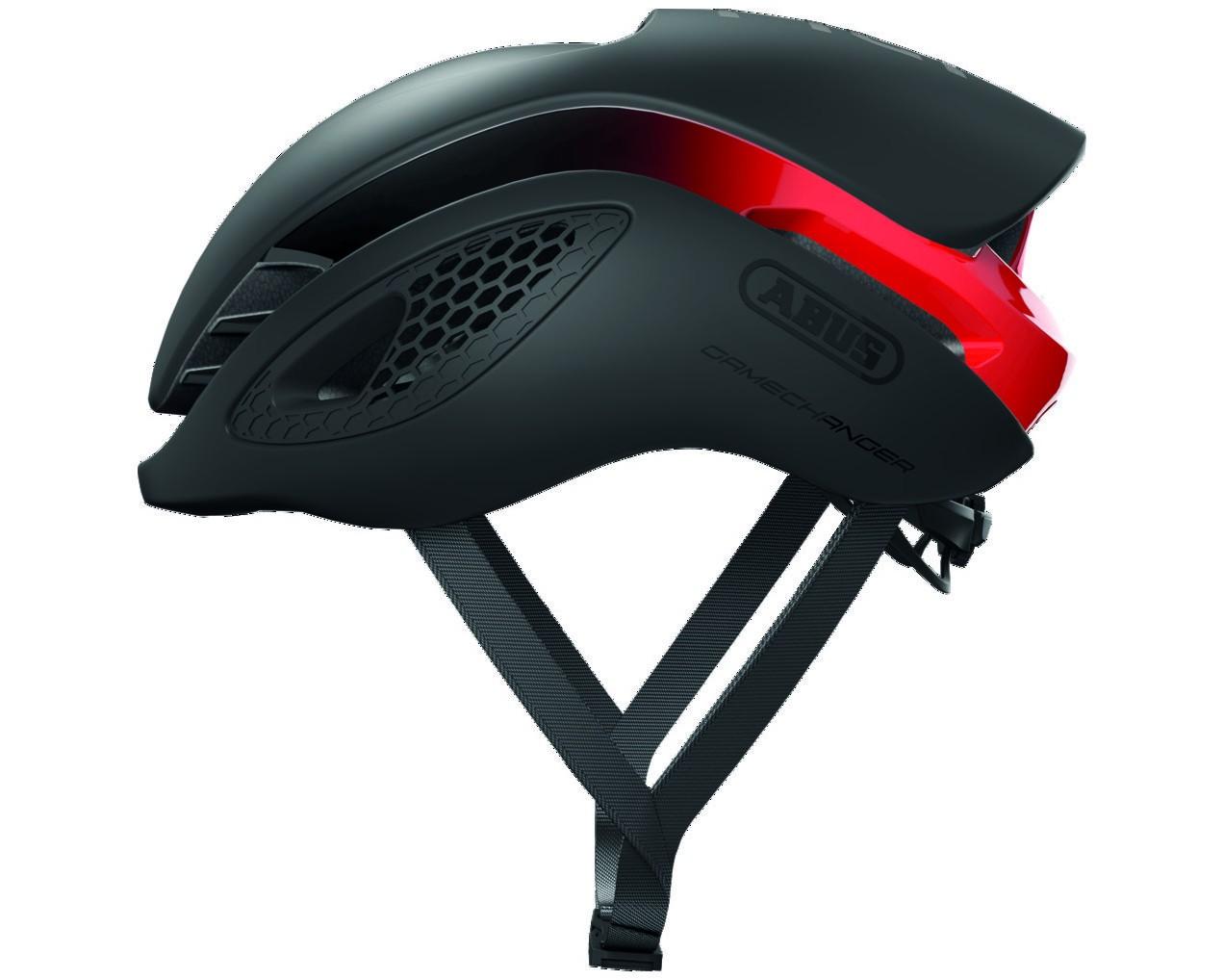 Abus GameChanger Road Bike Helmet   black red