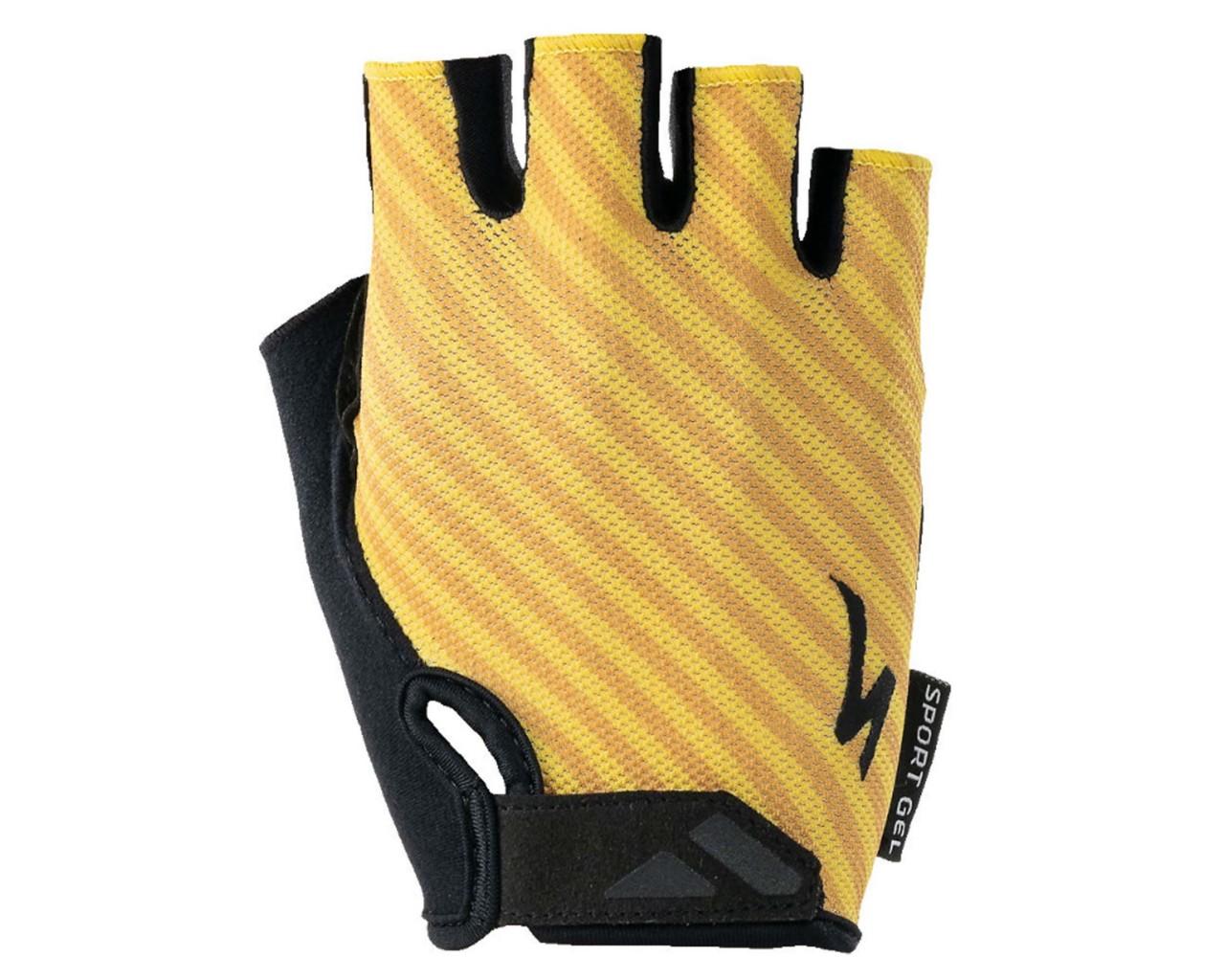 Specialized BG Sport Gel Damen Handschuhe kurzfinger   brassy yellow stripe