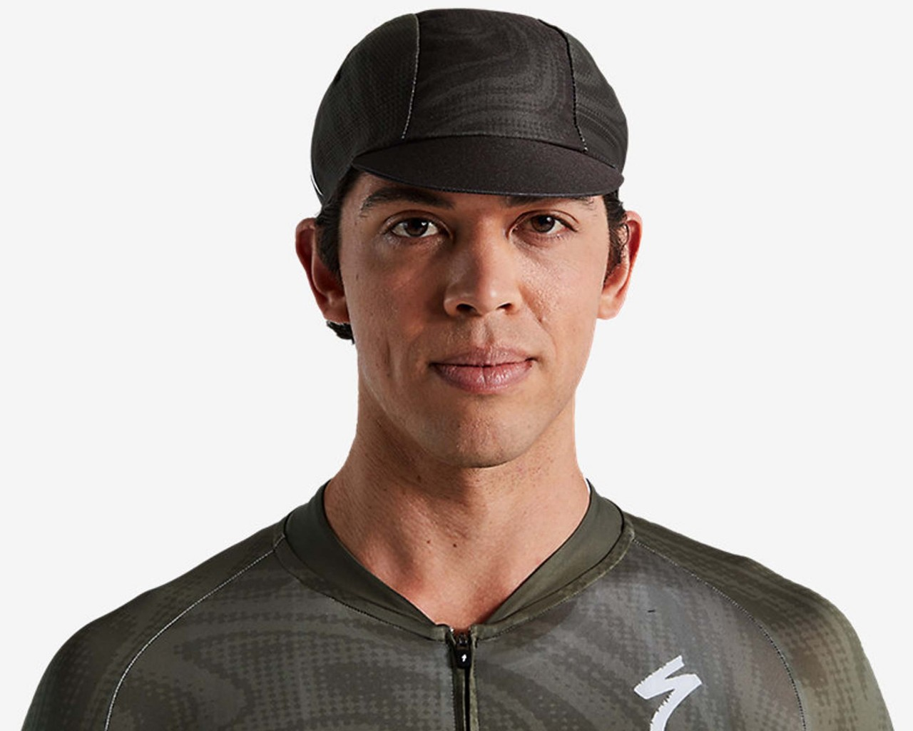 Specialized Cycling Cap Light mit Logo | military green