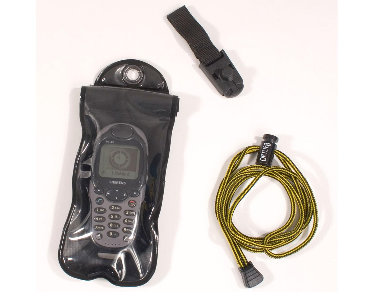 Ortlieb Safe-it - Größe S   schwarz-transparent
