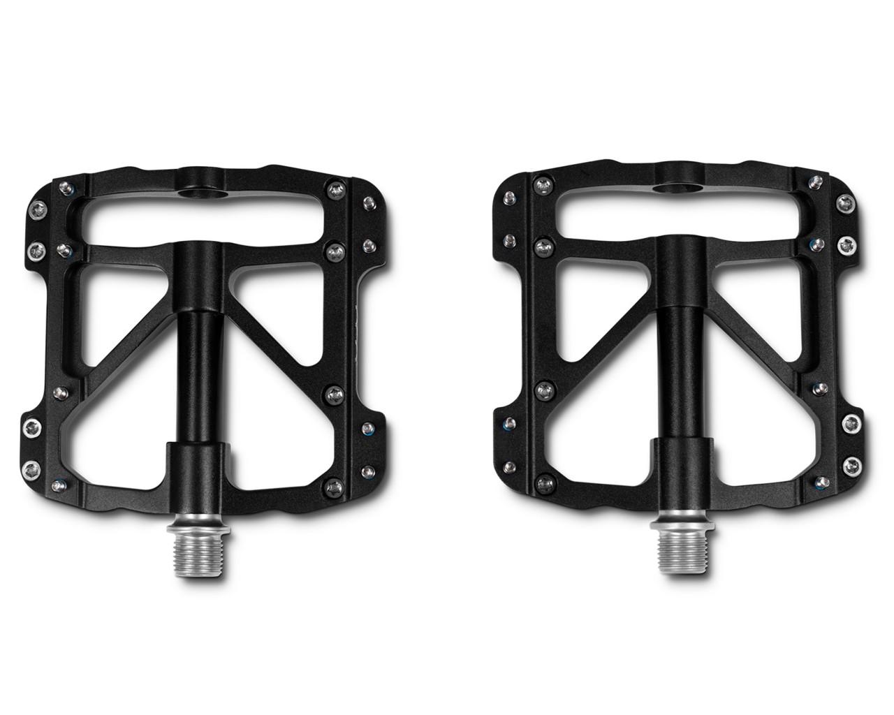 Cube RFR Pedale Flat SLT (Paar) | black n black