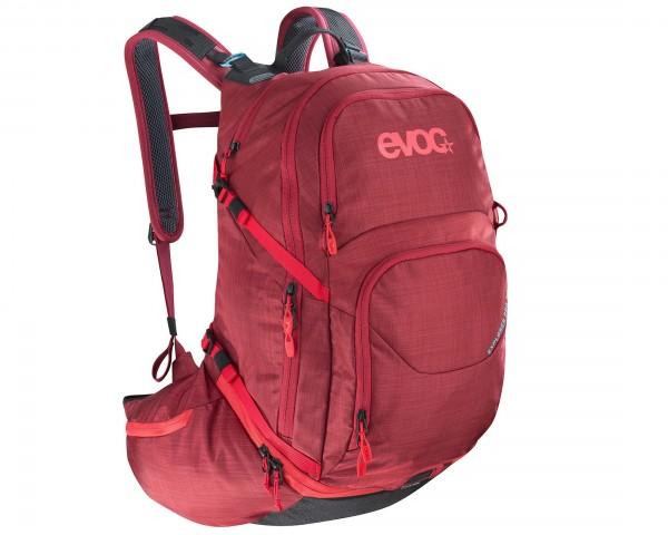 Evoc Explorer Pro 26 Liter Fahrradrucksack | heather ruby