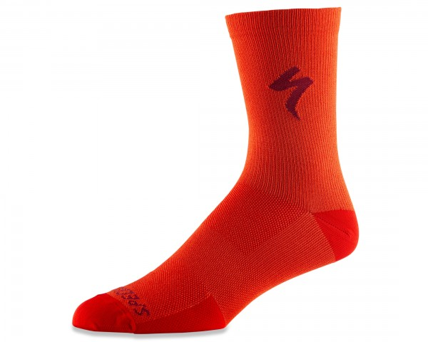 Specialized Soft Air Road Tall Socks | rocket red