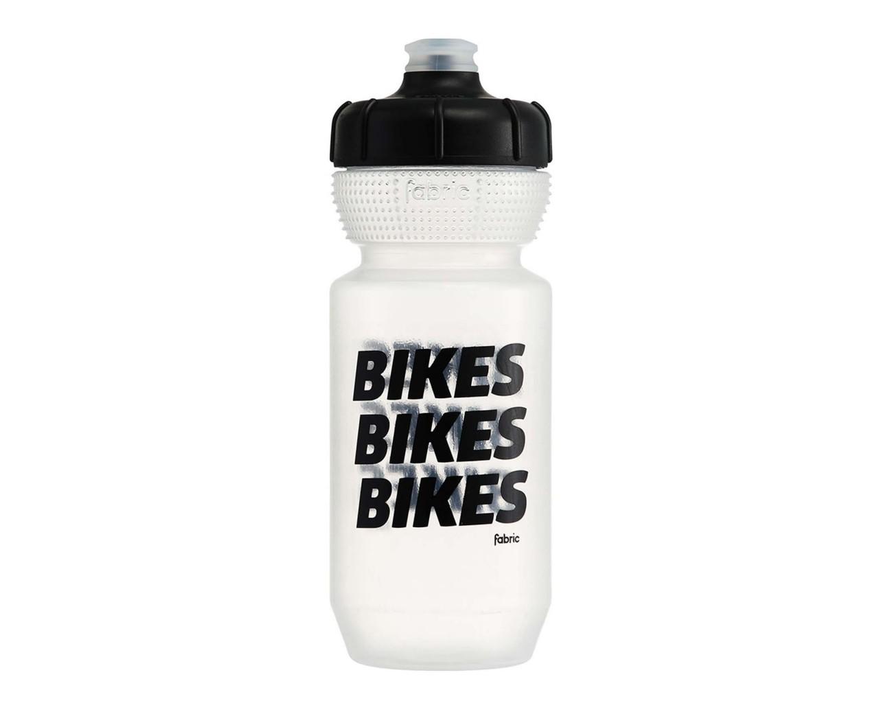 Fabric Gripper BIKES Bottle 600 ml | clear-black