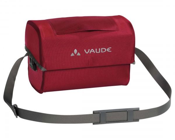 Vaude Aqua Box - wasserdichte Lenkertasche PVC-frei | red