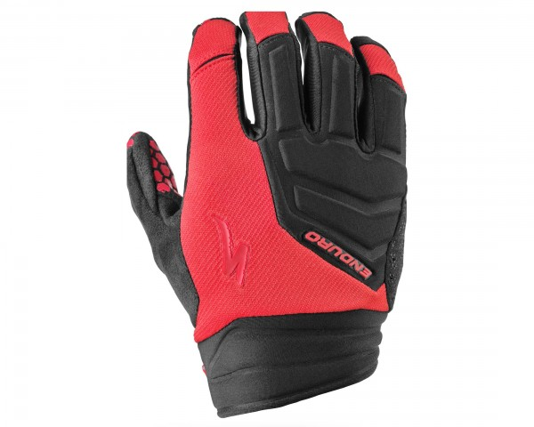Specialized Enduro long finger Gloves | Red